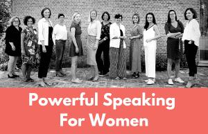 Public Speaking Course Brussels — For Women