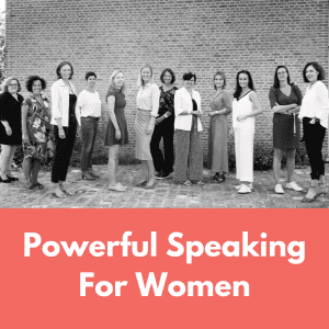 Powerful Speaking For Women – 5 & 6 May 2020 – ONLINE EDITION